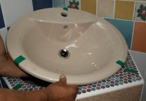installer un lavabo encastré